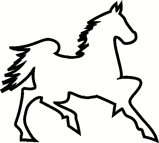 morgan horse coloring pages - dodge diva 39 s decals